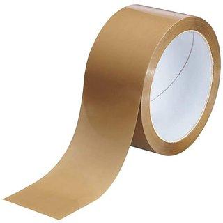 BOPP 2.5 Inch 65 Meter Self Adhesive Brown Tape (35 Pcs)