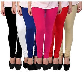 Vansh Garment Fashions Women's legging Bottom Set Of 6 Pcs Lowest Price