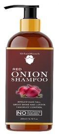 UrbanMooch Natural and Organic Onion Hair Shampoo for Hair Growth, Anti Hair Fall, Conditioning 200ml