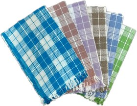 PRITHVI TEX - RAMBA design 216 GSM Cotton Bath Towel set ( 30 x 60 inch,Multicolour )-Pack of 6