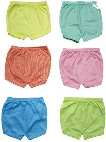 Kids Inner Wear Girls and Boys Briefs Inner Underwear Panty(0-3 months, Multi color, Pack of 6)