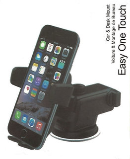Car Mobile Holder for Windshield, Dashboard Easy One Touch Smart Drive