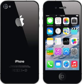 Refurbished Apple Iphone 4S Phone 16 Gb (Assorted color)