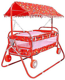 Baby'' Baby  multicolor  best on super quality STELL PIPE hood (canopy) cradles and bassinet (JHULLA and PALNA),crib cum