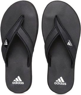 Adidas Men Adi Rio Black Flip Flops (Slippers)