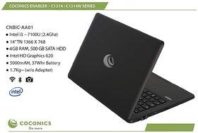 Coconics Enabler C1314   CNBIC AA01 Linux/Ubuntu  Intel Core i3  7100U 2.4 Ghz , 14 inches 35.56 cm  8  GB RAM / 500  GB SATA HDD