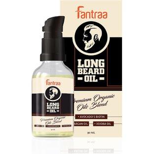 Fantraa Long Beard oil for Men  100 Natural  30 ml