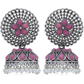 Sukkhi Exclusive Oxidised Pearl Jhumki Earring For Women