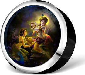 Beautiful Radha Krishna Masterpiece for your Car dashboard  office tables. Decorate EVD-1003