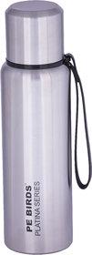 PE BIRDS Stainless Steel Double Wall Steelo Vacuum Flask, 750 ml