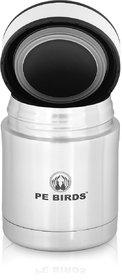 PE BIRDS Stainless Steel Double Wall Food Sambar Jar, 500ml