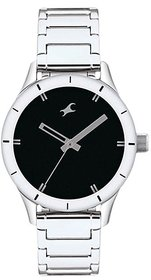 Fastrack Monochrome Analog Black Dial Women's Watch - NG6078SM06