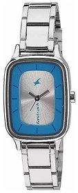 Fastrack Analog Silver Dial Women's Watch - NL6121SM01