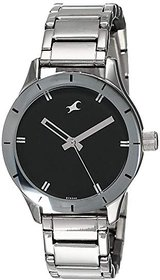Fastrack Monochrome Analog Black Dial chaye wali Women's Watch - 6078SM06
