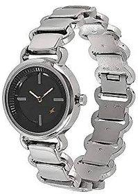 Fastrack Analog Black Dial Women's Watch - NM6117SM01 / NL6117SM01