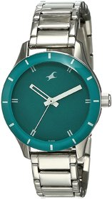 Fastrack Analog Green Dial Women's Watch - NM6078SM01 / NL6078SM01