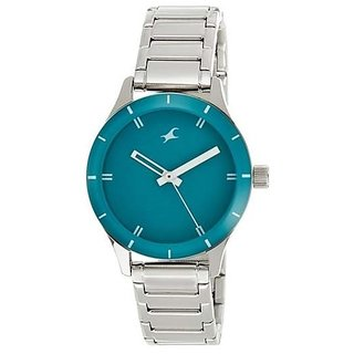 Fastrack Analog Green Dial Women's Watch - NL6078SM01