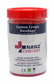 Nanz Comfort Cotton Crepe Bandages 6cm X 4m Crepe Bandage