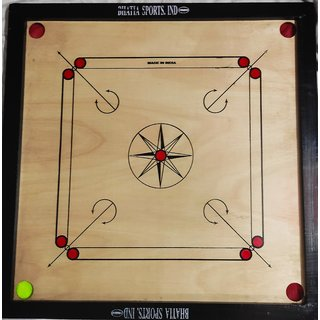 32 inch Carrom Board with coins ,striker ,powder( Heavy and Unbreakable)