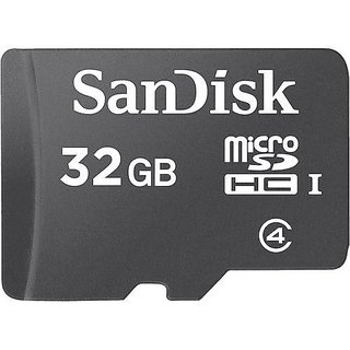 SanDisk 32 GB Class 4 microSDHC Flash Memory Card