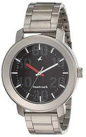 Fastrack Casual Analog Black Dial Men's Watch - NL3121SM02