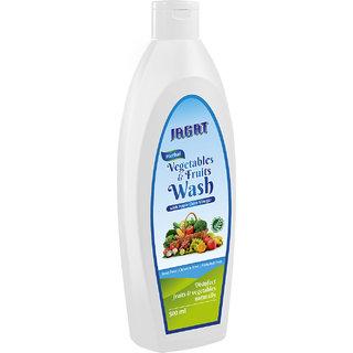 Jagat Vegetable Fruit Wash, 500 ml Pack of 2