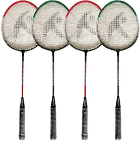 Hipkoo Sports Toofani Wide Body Rackets Set Of 4