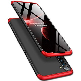 Redmi Note 8 Hybrid Covers ClickAway - Red Gkk Back Cover (Type: Hybrid Covers, Color: Red)