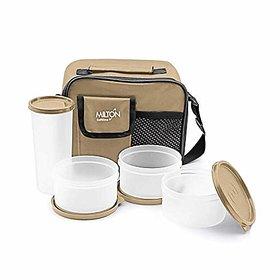 Milton Meal Combi Plastic Lunch Box Set - Assorted Colors