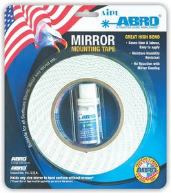 ABRO Mirror Mounting Tape for Mounting Mirror on Surface Adhesive