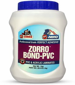 PVC Adhesive Multi-Purpose Water-Resistant Glue for Acrylic Laminates  Wood Synthetic
