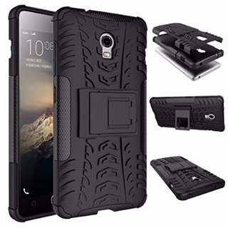 Lenovo Vibe P1 Kick Stand Rugged Tough Armor Back Cover By Gadget E-Store