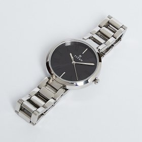 Titan Youth Analog Black Dial Silver Stainless Steel Strap Women's Watch -NL2480SM02