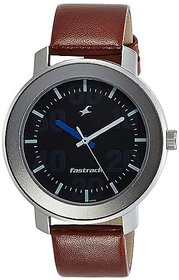 Fastrack Casual Analog Black Dial Men's Watch - NL3121SL01