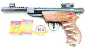 JGG Bond Series Target Plus Air GUN WOODEN FREE 200 PELLETS