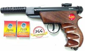 JGG BOND TARGET WOODEN  AIR GUN FREE 200 PELLETS