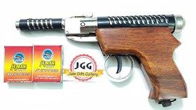 JGG THUNDER WOODEN AIR GUN FREE 200 PELLETS