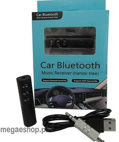 BT450 Portable Car Bluetooth Handsfree  Wireless Stereo Music Receiver with inbuilt battery