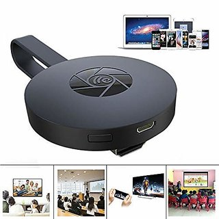 Chromecast Wi-Fi Display TV Dongle Receiver Air Mirror DLNA Airplay Miracast Easy Sharing HDMI TV Stick For HDTV