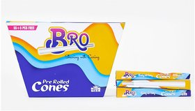 Bro Pre Rolled Cones White (Packs of 55+5)