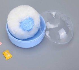 CHILD CHIC POWDER PUFF BOX PINK  (BLUE)
