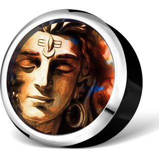 Lord Shiva beautiful showpiece for your car dashboard, office tables as well as to decorate your homes.EVD-1007