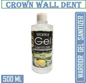 CROWN WALL DENT Sanitizer WITH 72 ALCOHOL ( 500 ML FLIPTOP ) GEL