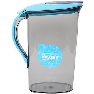 Nayasa Superplast Plastic Icon Jug 2.1 Litre Blue