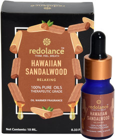 redolance 100 Pure Natural Hawaiian Sandalwood Essential Oil 20ml pack of 2