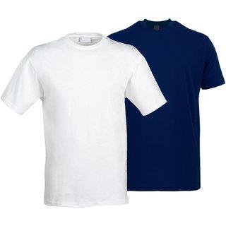 Eysom Men's Cotton Half Sleeve T-Shirt - Pack of 2