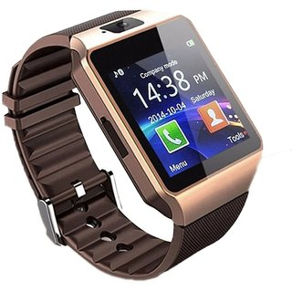 DZ09 Men's Smart Watch Square Dial with Multi-Function  Camera for All Smartphone (Random Colour)