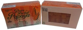 Pure Herbal Papaya Fruity Soap 4 In 1 Skin Whitening Soap Results In 20 Days 1 P
