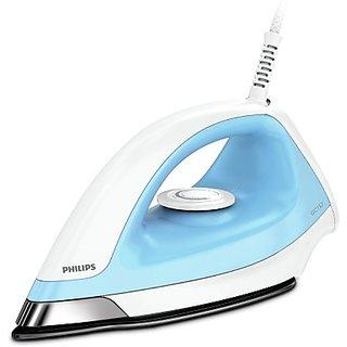 Philips GC157/02 1100 W Dry Iron  (White, Blue)