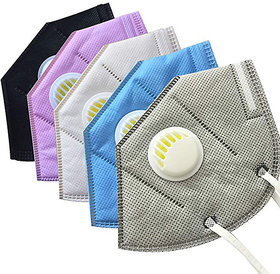 n95 anti-pollution mas protection pack of 5